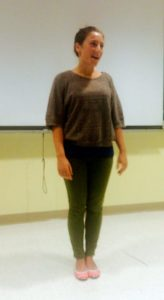 Angela Fox, Columbia University CS Great Presentations Class