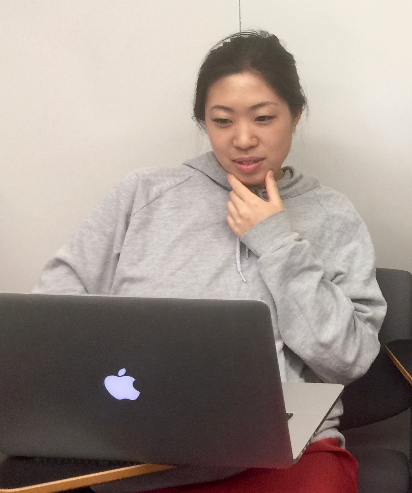 Melody Ju in the Academic Writing Class, Fall 2016, Columbia University